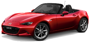 מאזדה MX-5 Soft Top ידני 2.0 (160 כ''ס)