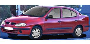 רנו מגאן דור 1 (1996-2004) EX אוט' 4 דל' 1.6 (110 כ''ס)