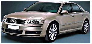אאודי A8 4X4 V8 Long אוט' 4.2 (350 כ''ס)