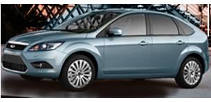 פורד פוקוס Trend-X הצ'בק אוט' 1.6 (100 כ''ס)(*)