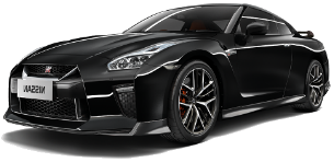 ניסאן GT-R 4X4 Black Edition קופה אוט' 3.8 (570 כ''ס)