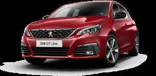 פיג'ו 308 GTI ידני + גג פנורמי 1.6 (272 כ